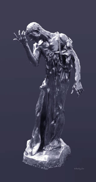 Photograph -  The Sculpture Of Auguste Rodin by Xueling Zou