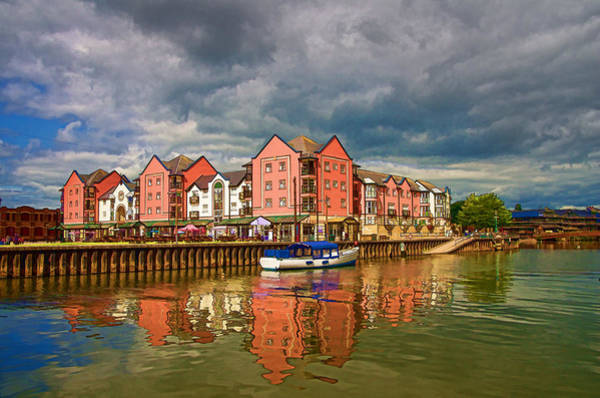 Photograph -  The Waterfront In Exeter by Pete Hemington