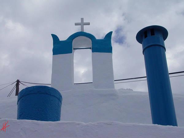 Photograph -  Top Of Santorini Island  by Colette V Hera  Guggenheim
