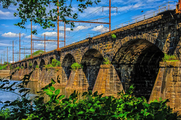 Photograph -  Trenton Railroad Bridge by Louis Dallara