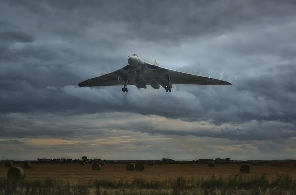 Avro Vulcan Wall Art - Photograph -  Vulcan Bomber by Jason Green