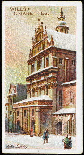 Early 20th Century Drawing -  Warsaw  Church Of The Piarist Fathers by Mary Evans Picture Library