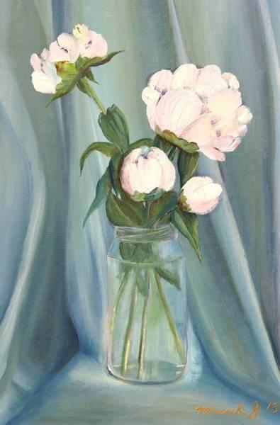 Novelties Painting -  White Flower Purity by Misuk Jenkins