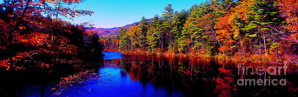 White Mountians National Park Red Eagle Pond New Hampshire Art Print