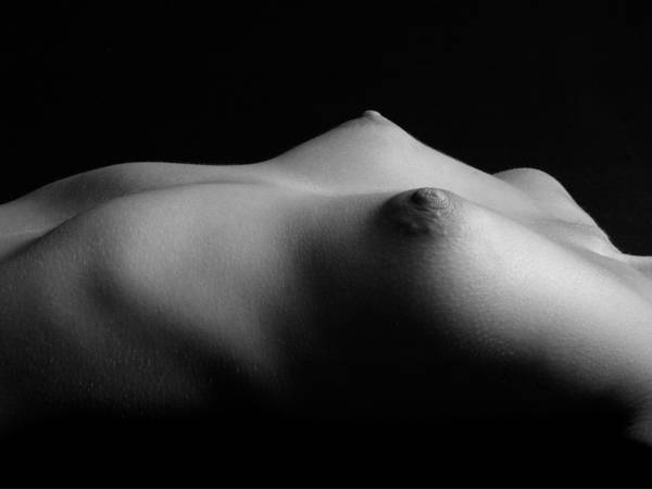 Photograph - 0275 Black White Photo Art Small Breast Landscape  by Chris Maher