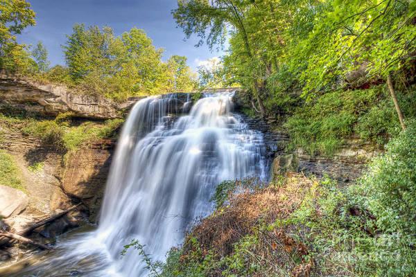 0302 Cuyahoga Valley National Park Brandywine Falls Art Print
