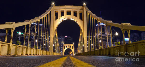 Pennsylvania Photograph - 0304 Roberto Clemente Bridge Pittsburgh by Steve Sturgill