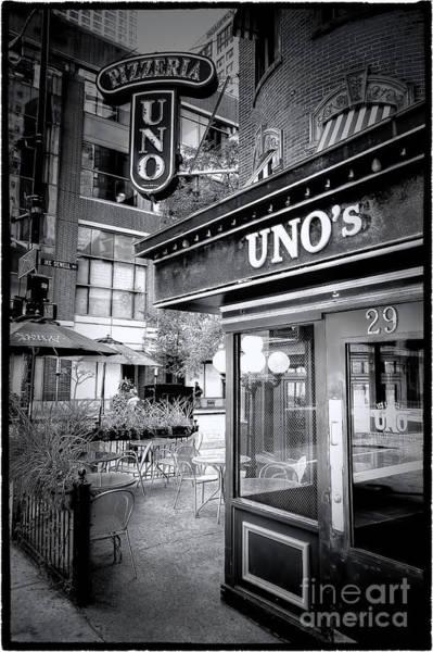 Pizza Photograph - 0748 Uno's Pizzaria by Steve Sturgill