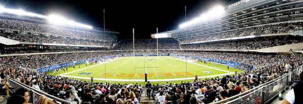 Soldier Field Photograph - 0856 Soldier Field Panoramic by Steve Sturgill