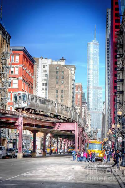 Wabash Avenue Wall Art - Photograph - 0946 Wabash Avenue - Chicago by Steve Sturgill