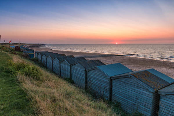 Margate Photograph -  Minnis Bay Sunset by Ian Hufton
