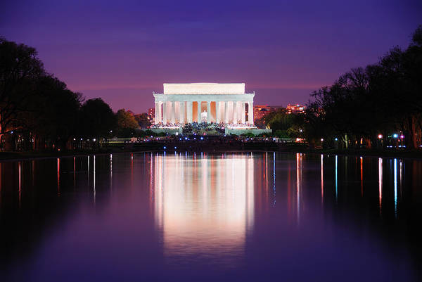 Photograph -  Washington Dc by Songquan Deng