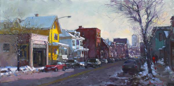 Wall Art - Painting - 149 Elmwood Ave Savoy by Ylli Haruni