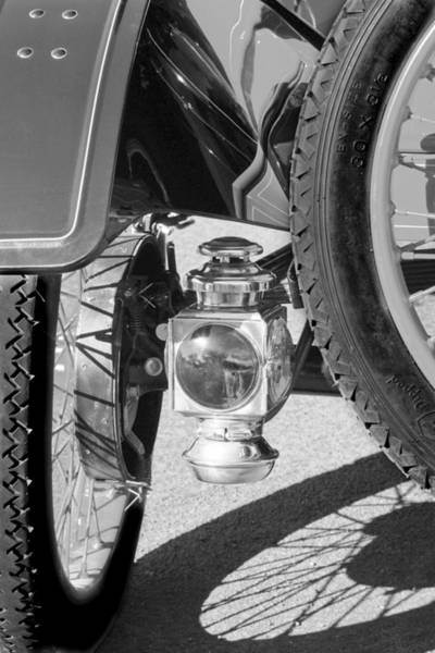 Photograph - 1911 Ford Model T Torpedo 4 Cylinder 25 Hp Taillight by Jill Reger