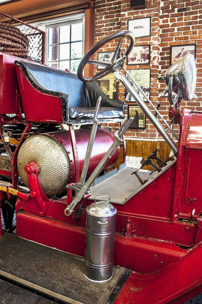 Photograph - 1914 Lafrance Fire Engine by Rich Franco
