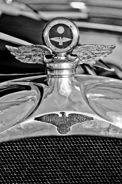 Photograph - 1923 Duesenberg Model A Touring Hood Ornament by Jill Reger