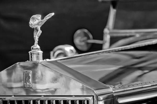 Photograph - 1928 Rolls-royce Phantom I Derby Speedster Hood Ornament by Jill Reger