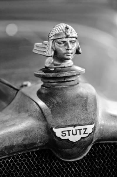 Photograph - 1928 Stutz Bb Coupe Hood Ornament by Jill Reger