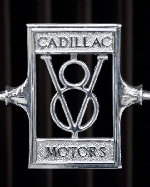Photograph - 1929 Cadillac Dual-cowl Phaeton Emblem by Jill Reger