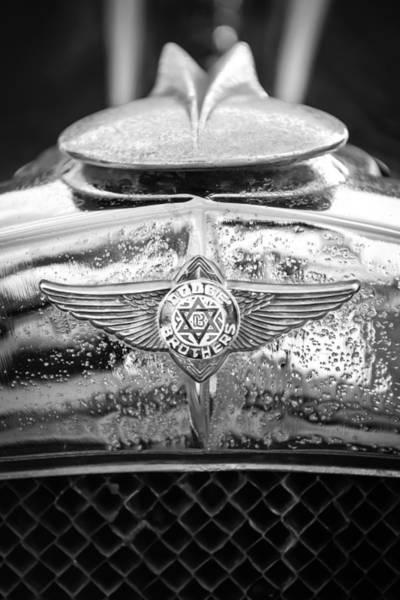 1929 Photograph - 1929 Dodge Brothers Emblem by Jill Reger