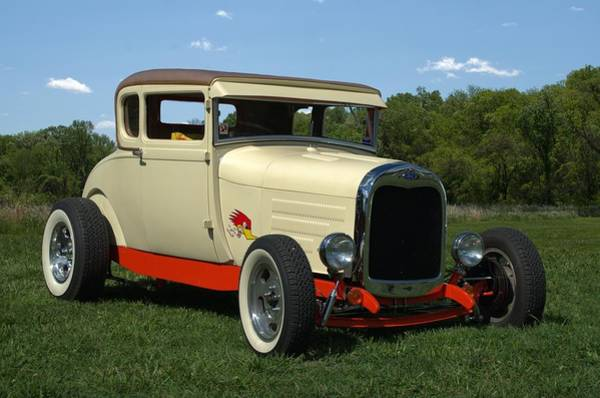 Photograph - 1928 Ford Model A Hot Rod by Tim McCullough