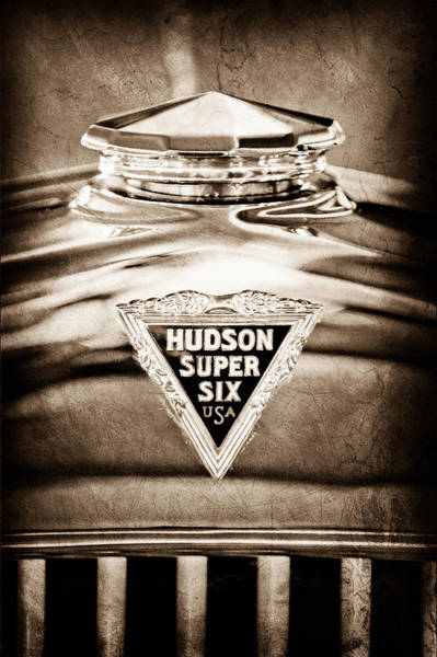 Cabriolet Photograph - 1929 Hudson Cabriolet Hood Ornament by Jill Reger