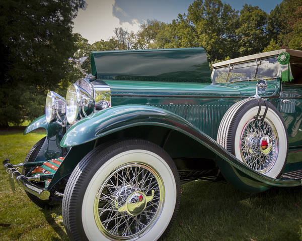 Photograph - 1929 Isotta Fraschini Tipo 8a Convertible Sedan by Jack R Perry
