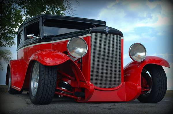 Photograph - 1930 Chevrolet Sedan Hot Rod by Tim McCullough