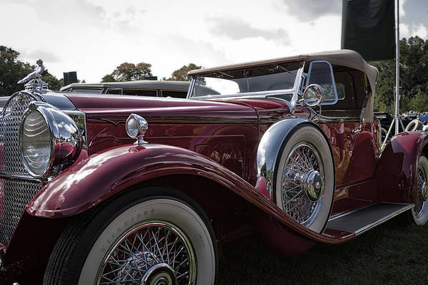 Photograph - 1930 Packard Model 734 Speedster Runabout by Jack R Perry