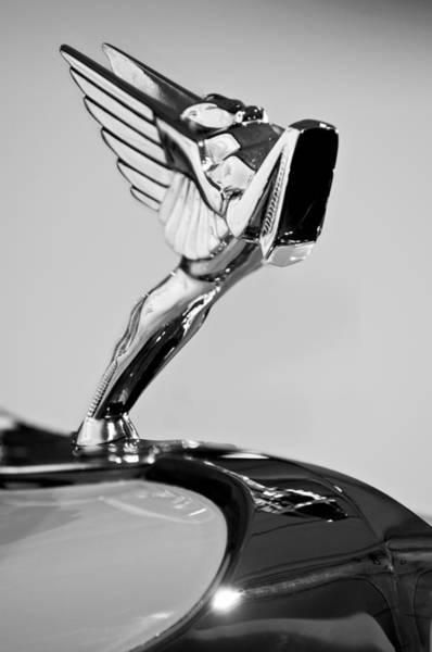 Photograph - 1931 Cord L-29 Legrande Speedster Hood Ornament by Jill Reger