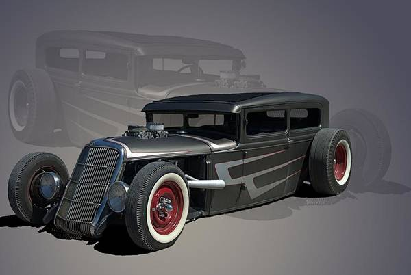 Photograph - 1931 Ford Hot Rod Sedan by Tim McCullough