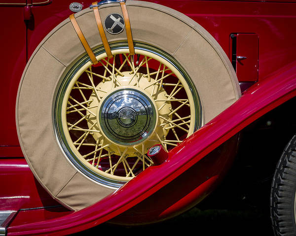 Photograph - 1931 Franklin Model 151 Convertible by Jack R Perry