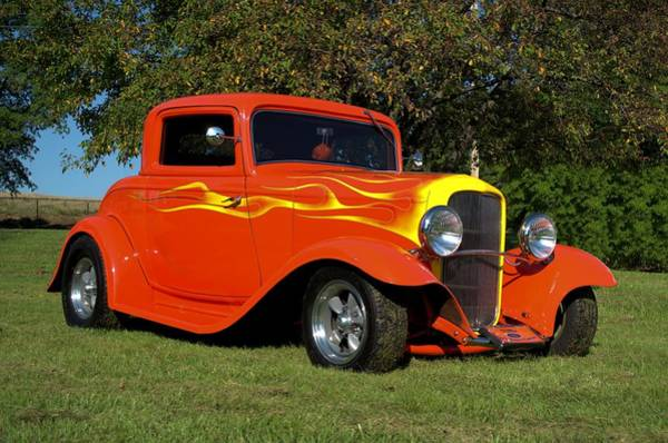 Photograph - 1932 Ford Hot Rod by Tim McCullough