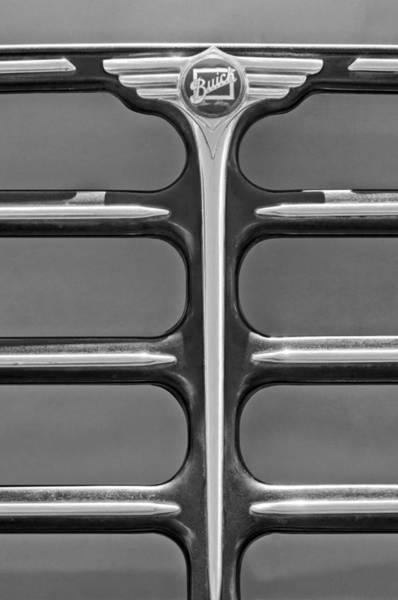 Photograph - 1933 Buick Emblem by Jill Reger