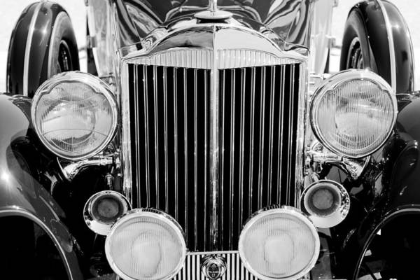 Photograph - 1933 Packard 12 Convertible Coupe Classic Car by Jill Reger