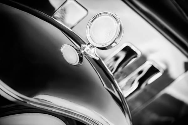 Photograph - 1933 Stutz Sv-16 Five-passenger Sedan by Jill Reger