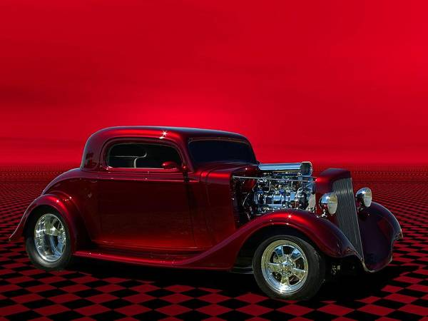 Photograph - 1934 Chevrolet Hot Rod Coupe by Tim McCullough
