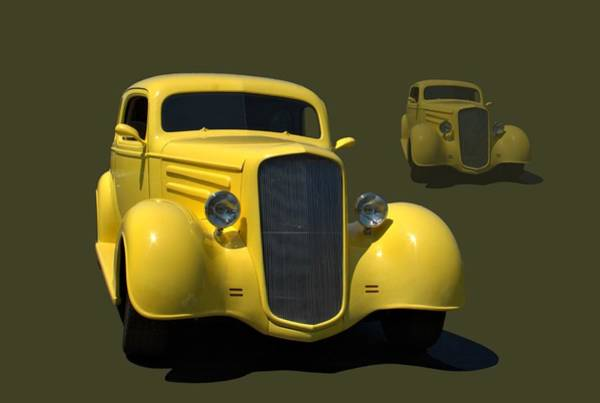 Photograph - 1935 Chevrolet Sedan Hot Rod by Tim McCullough