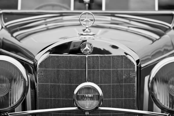 Photograph - 1936 Mercedes-benz 540k Mayfair Special Roadster by Jill Reger