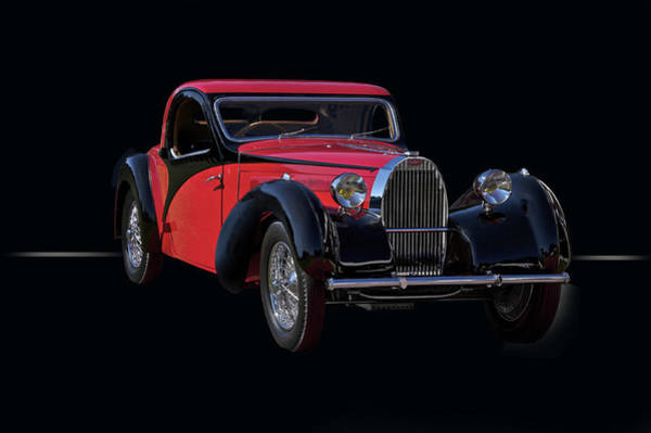 Wall Art - Photograph - 1937 Bugatti Type 57 Atalante Coupe by Dave Koontz
