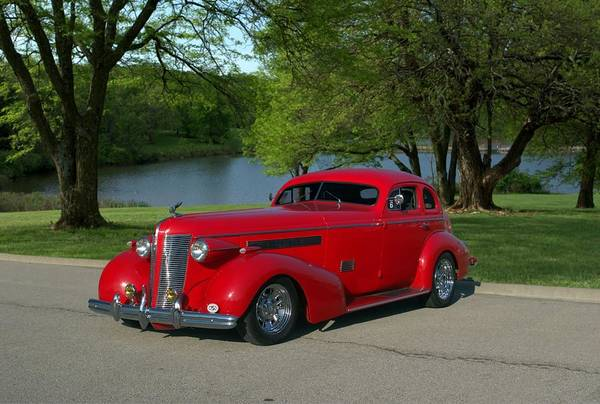 Photograph - 1937 Buick Custom Long Nose Hot Rod by Tim McCullough
