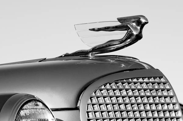 Photograph - 1937 Cadillac V8 Hood Ornament by Jill Reger