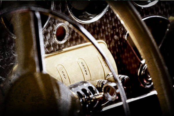 Cord Photograph - 1937 Cord 812 Phaeton Controls by Jill Reger