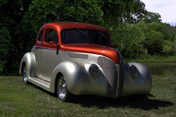 Photograph - 1938 Ford Coupe Hot Rod by Tim McCullough