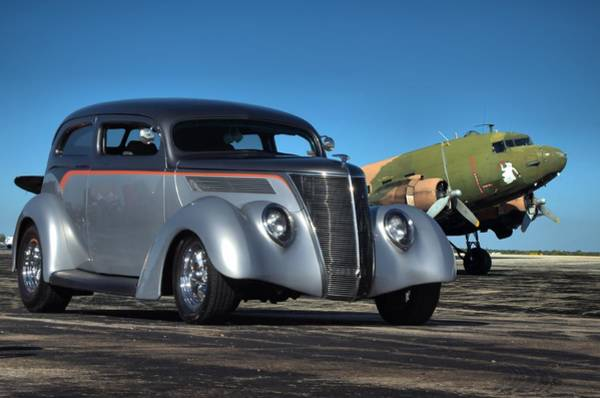 Photograph - 1937 Ford Sedan by Tim McCullough
