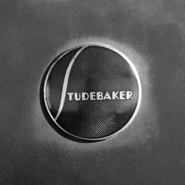Photograph - 1937 Studebaker Emblem by Jill Reger