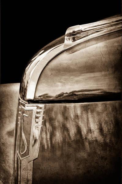 Commander Photograph - 1939 Studebaker Commander Hood Ornament by Jill Reger