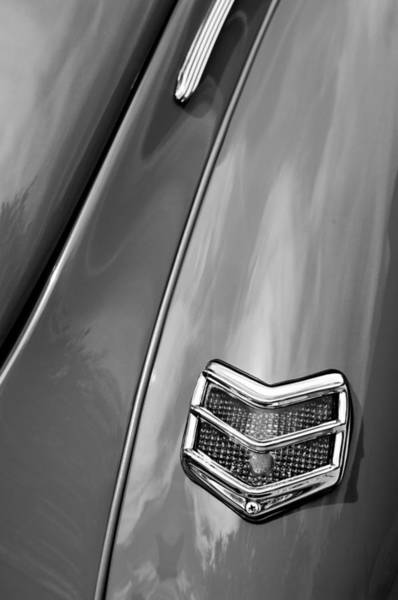Coupe Photograph - 1940 Ford Deluxe Coupe Taillight by Jill Reger