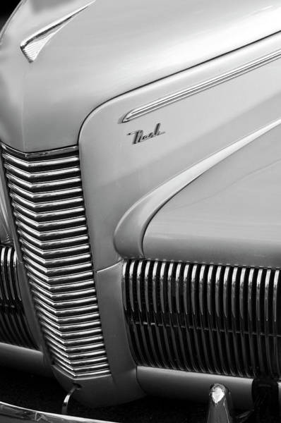 Photograph - 1940 Nash Grille by Jill Reger