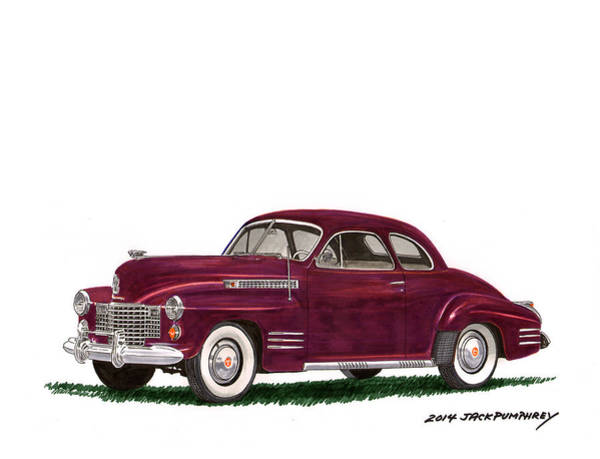 0 Painting - Cadillac 62 Coupe by Jack Pumphrey